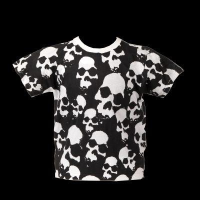 kids skulls white