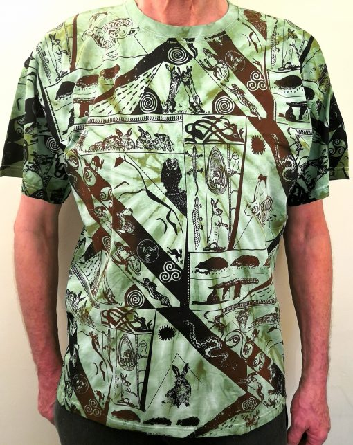 Hares-Olive-green-Tie-dye