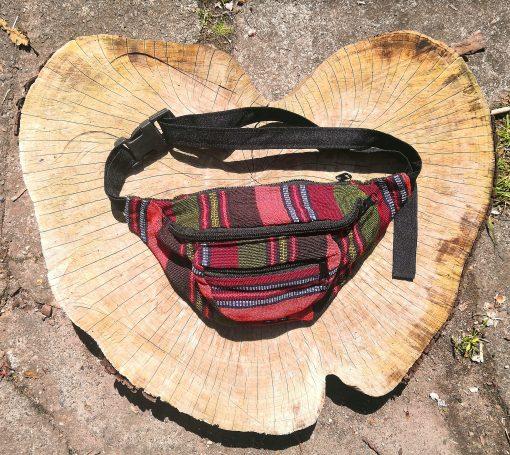 Money Belt Bum Bag Olive Earth
