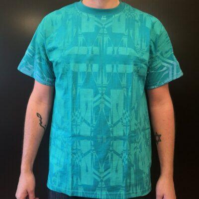 San Ildefonso hand printed t shirt