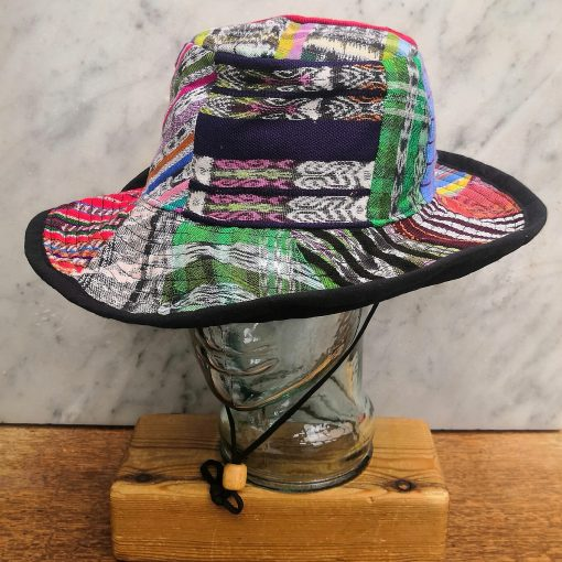 Patchwork Sun Hat Fourth Style M