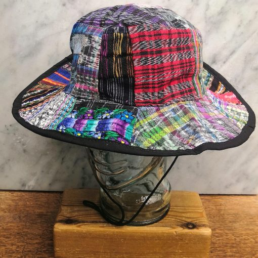 Patchwork Sun Hat Fourth Style L