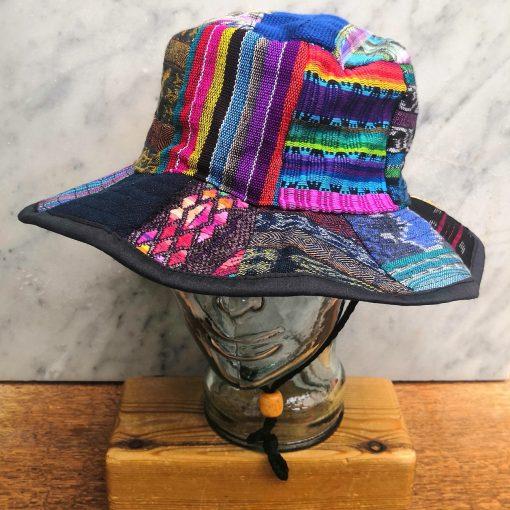 Patchwork Sun Hat Fourth Style XL