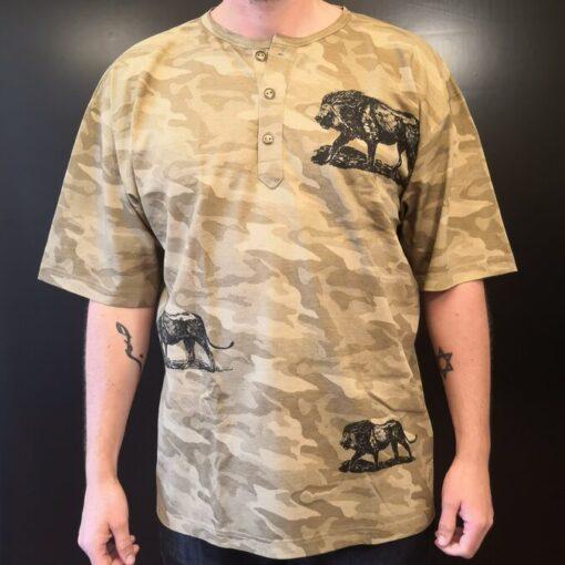 Lion camouflage