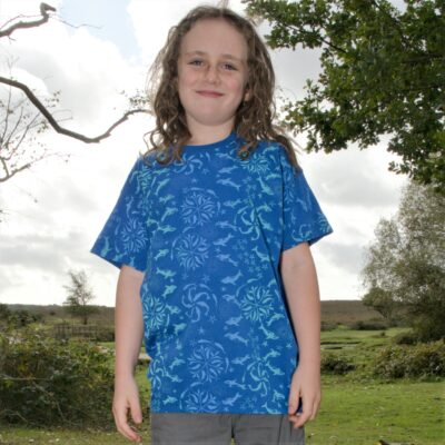 kids whales blue