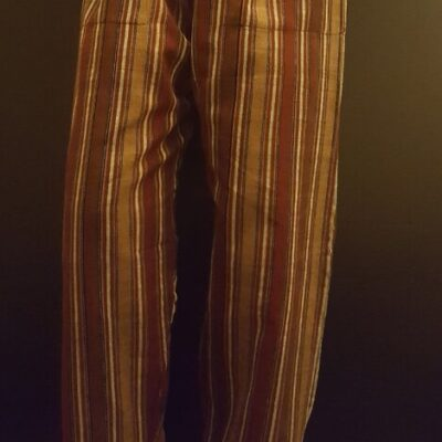 Hand Woven Trousers Autumn leaves