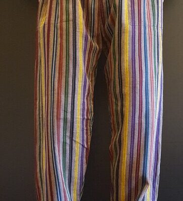 Hand Woven Trousers Multicolour