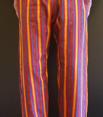 Hand Woven Trousers Sunset