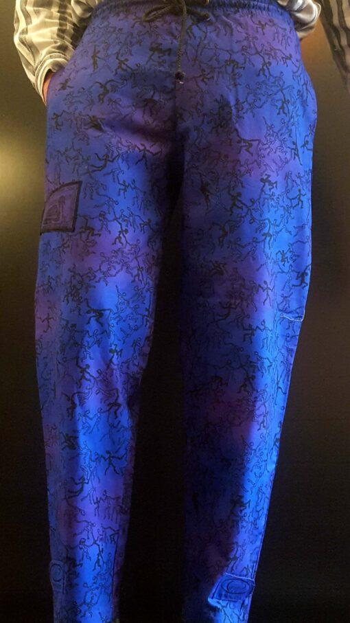 Afro Jive. Blue_purple